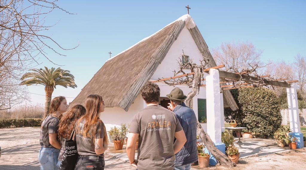 Paredes colabora con Azalea en el Solar Decthlon Europe