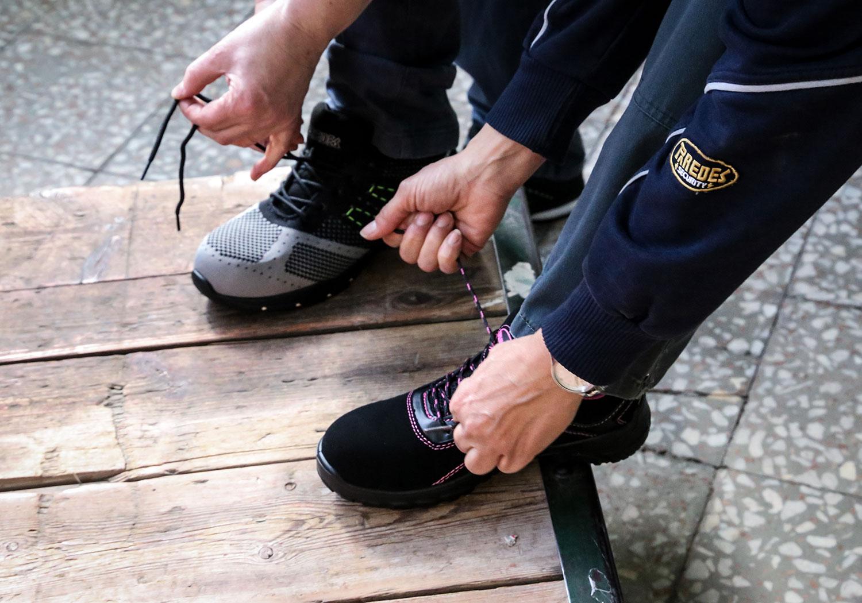 Normativa Calzado de seguridad Paredes