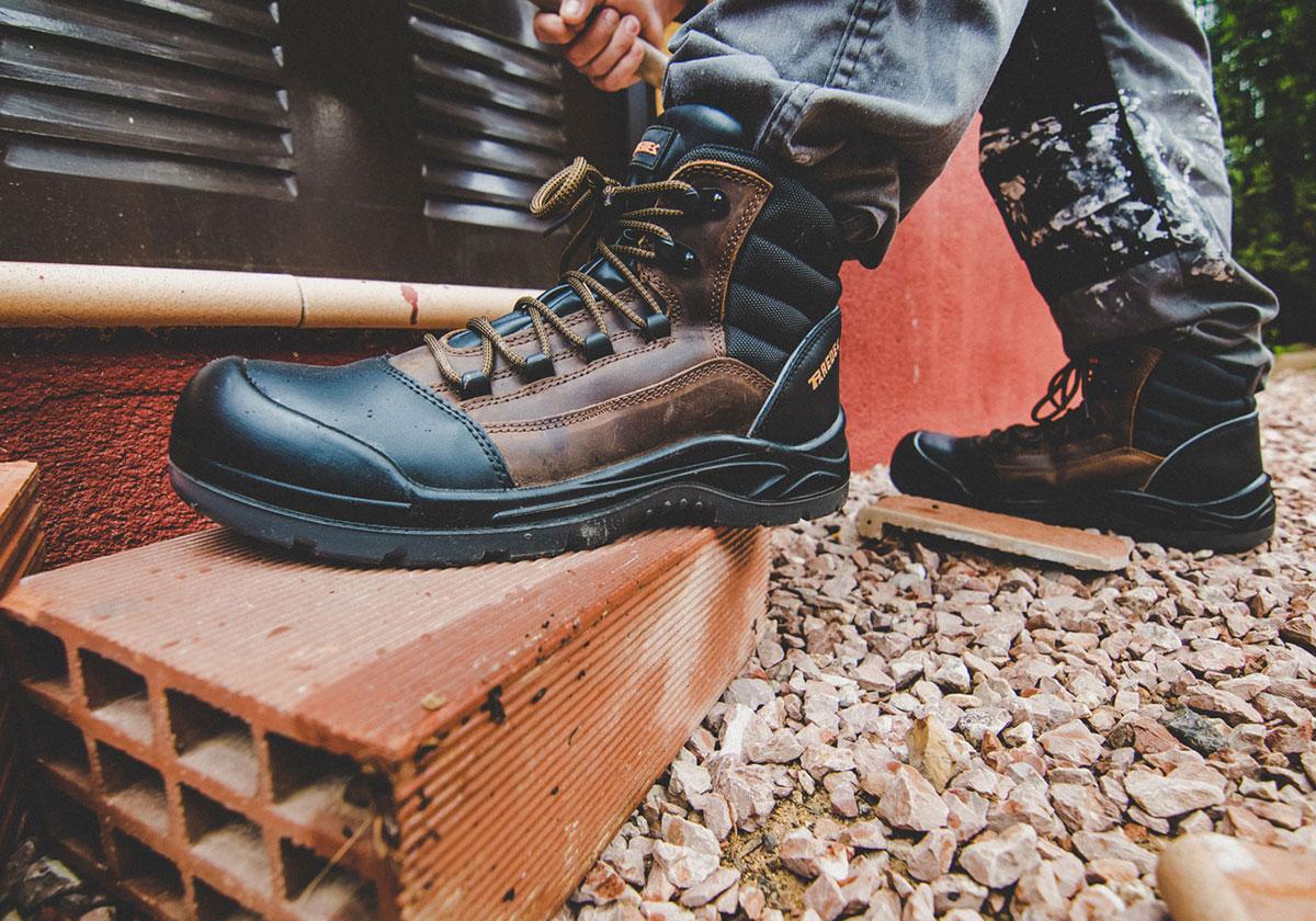 calzado laboral con puntera o sin puntera paredes seguridad