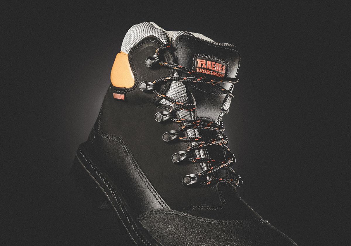 calzado de seguridad dieléctrico aislante conductor